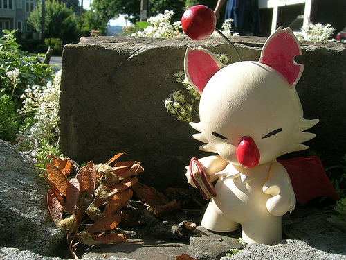 Custom Moogle Munny by Chris